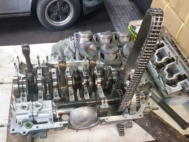 restauration moteur porsche oise 60